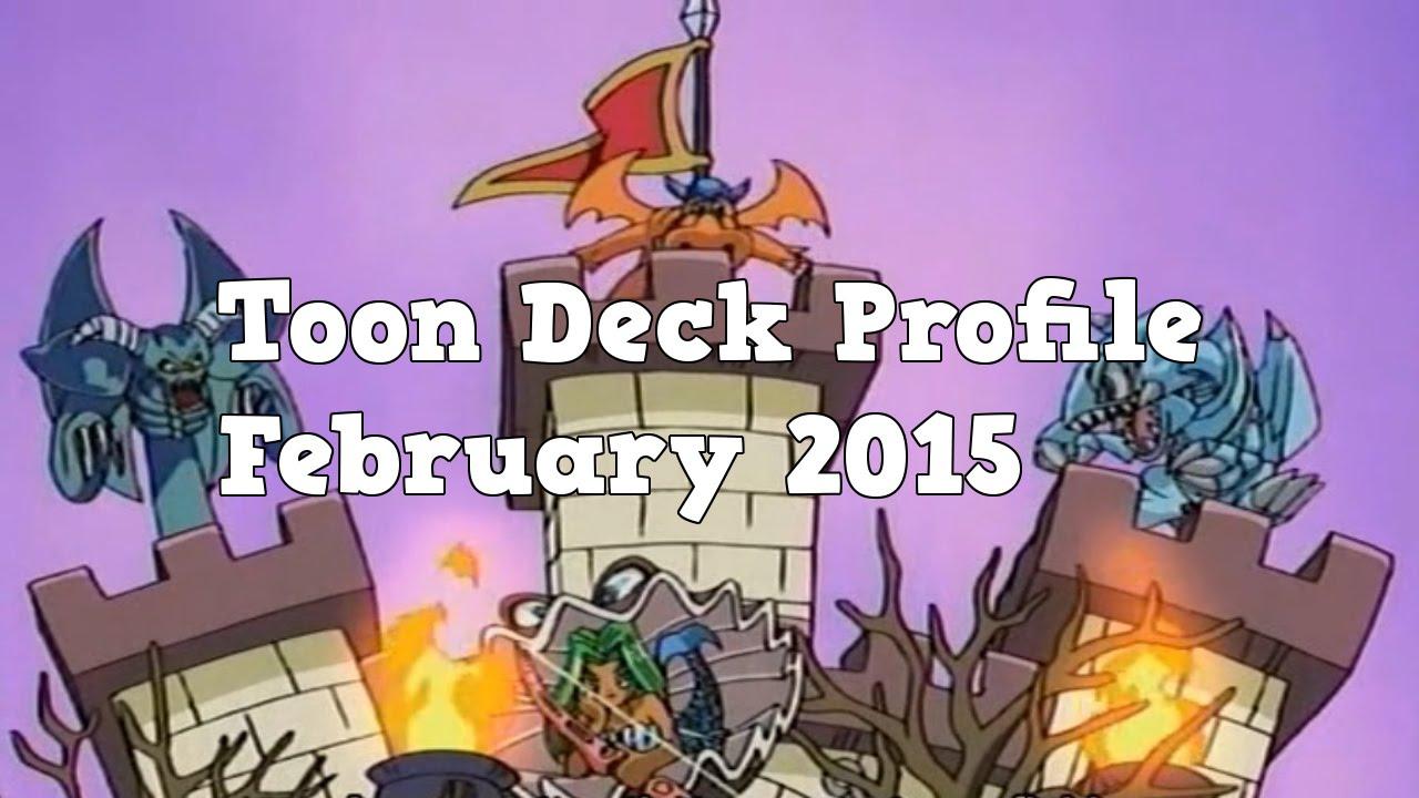 Yugioh Toon Deck Profile February 2015