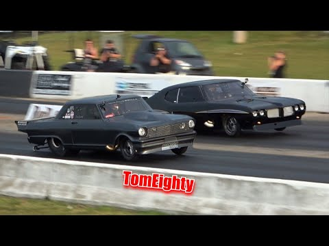 Insane Drag Racing Power!