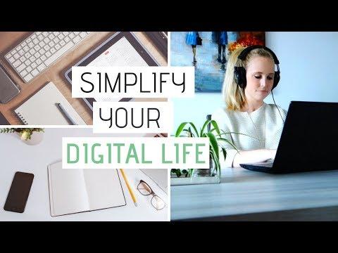 SIMPLIFY YOUR DIGITAL LIFE | 8 Digital Minimalism Tips That Work