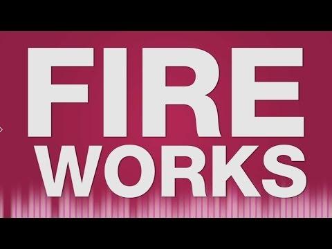 Fireworks - SOUND EFFECT - Silvester Feuerwerk 2016 SOUND