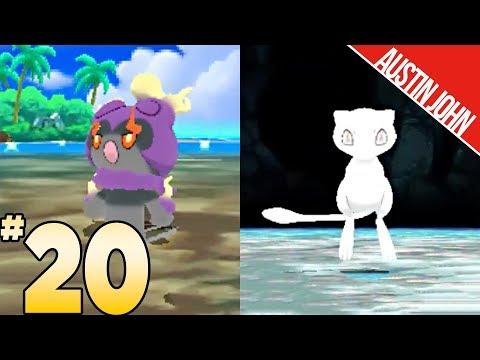 White Mew, Purple Marshadow, Hapu's Grand Trial & More! ultraLOCKE EP20 | Austin John Plays