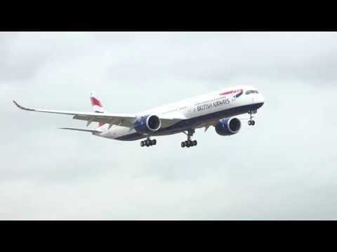 British Airways - Our first A350 landing