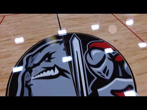Maxine Smith STEAM Academy New Basketball Floor 2018