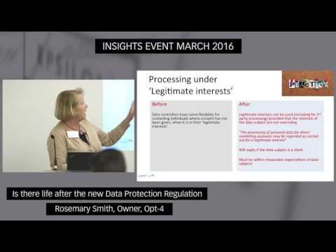 Is there life after the new Data Protection Regulation