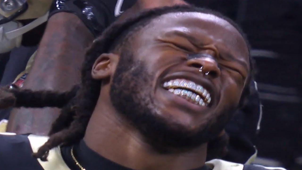 Alvin Kamara UNREAL Tackle-Breaking Touchdown vs. Packers