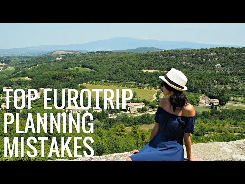 8 Mistakes Not to Make When Planning a Europe Trip