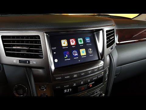 Lexus LX570 2008-2015 г.в. и Android Auto Pro 6.0.1