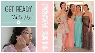 Get Ready With Me: Prom 2014 + Prom Pictures