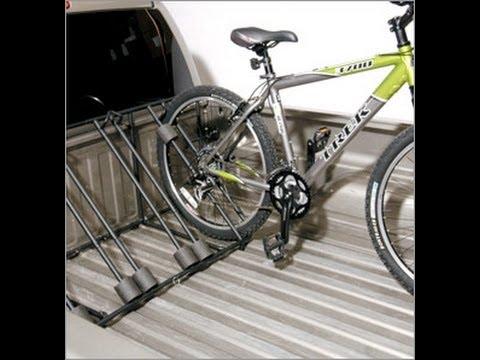 Advantage Sportsrack Truck Bedrack 4 Bike Rack Youtube