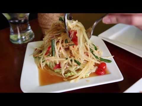 Generate NY CHOW Report - Thai Papaya Salad at Ayada Pics