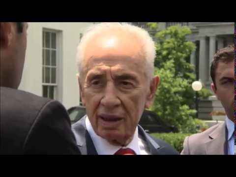 Video: President Shimon Peres Remarks After Meeting With President Obama 25 June 2014