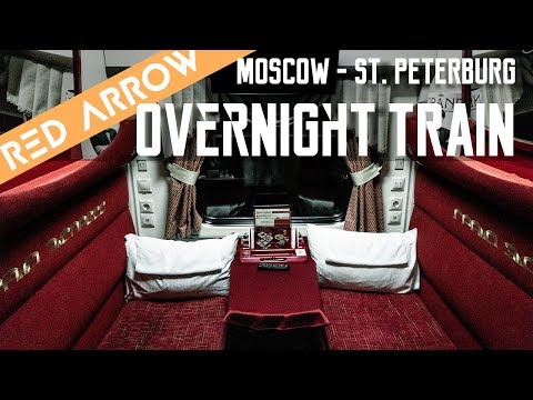 Train Moscow To St. Petersburg | Russia Travel Vlog