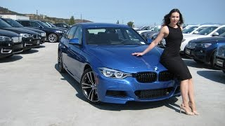 "NEW BMW 340i M Sport Package / Exhaust Sound / 19"" M Wheels / BMW Review"