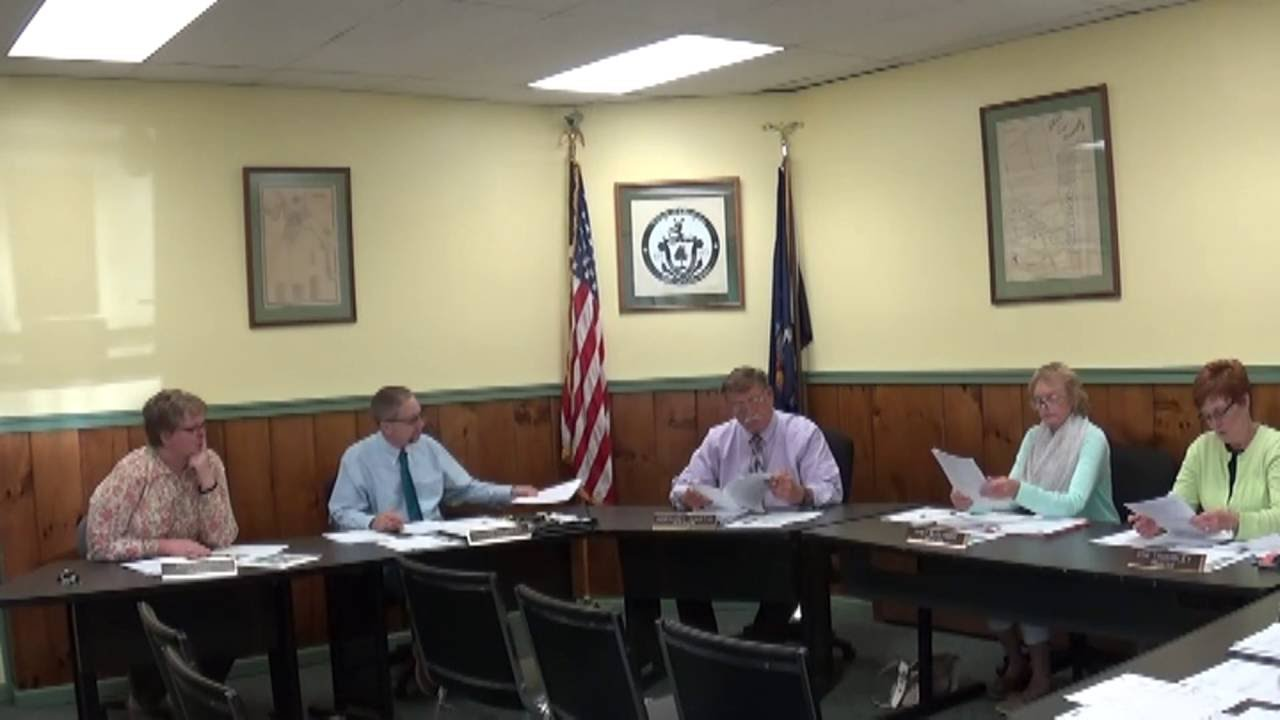 Champlain Village Board Meeting  6-13-16