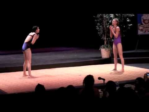 NorCal Regional Yoga Asana Championships 2010: Courtney Mace and Cynthia Wehr