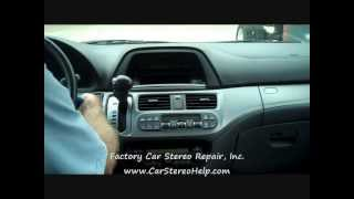Honda Odyssey Stereo and CD Removal 2005-2010