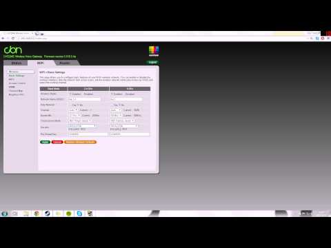 Technicolor Router: Setup | FunnyDog TV