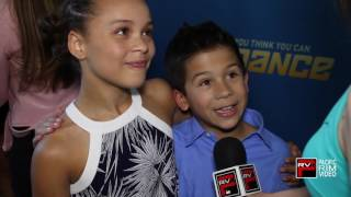 Tahani Anderson and JT Church talk first live show SYTYCD