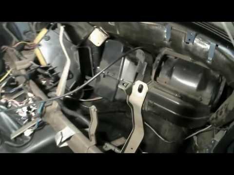 Замена радиатора печки Chevrolet Niva  с кондиционером