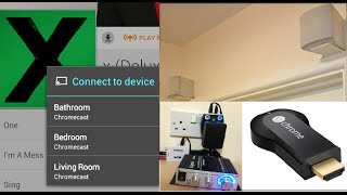 Budget Sonos alternative using Google Chromecast. Affordable multi room music streaming!