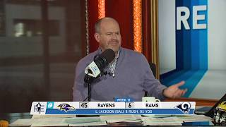 The Voice of REason: Rich Eisen on Lamar Jackson's MNF Demolition of the Rams | 11/26/19