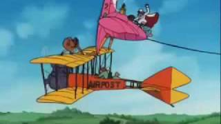 Those crazy cartoons and their flying machines