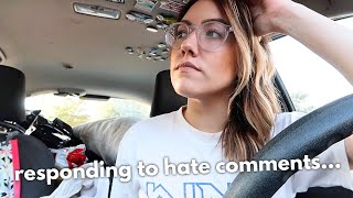 responding to the horrible comments | Katie Carney
