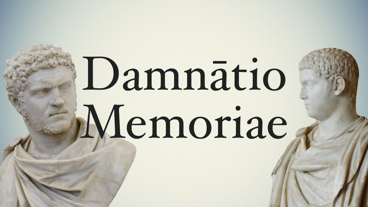 Image result for damnatio memoriae