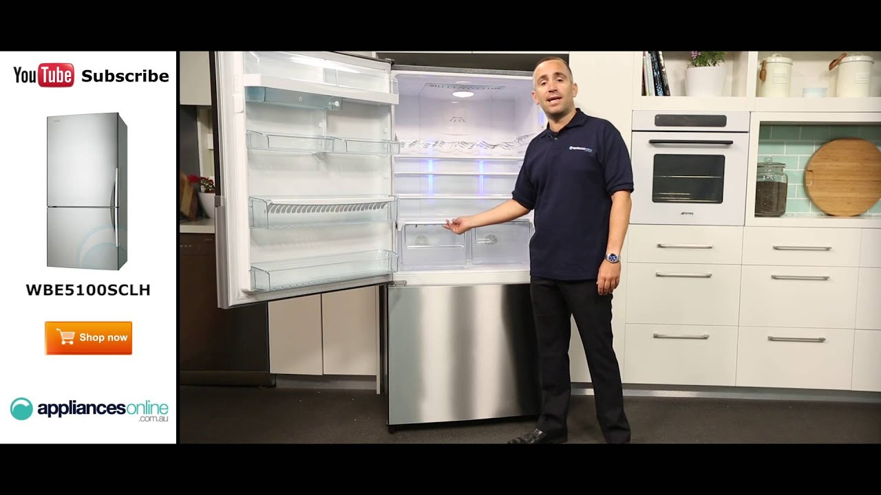 510l fridge wbe5100sclh reviewed by expert appliances online