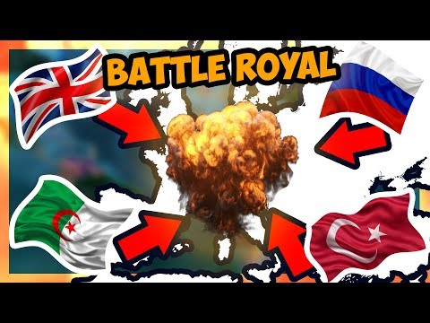 HOI4 | Battle Royal Mod [Modern Day] - BATTLE FOR EUROPE! [Hearts of Iron 4]