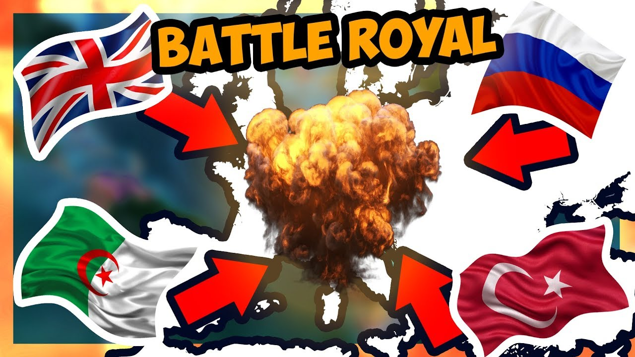 HOI4   Battle Royale Mod [Modern Day] - BATTLE FOR EUROPE! [Hearts of Iron  4]
