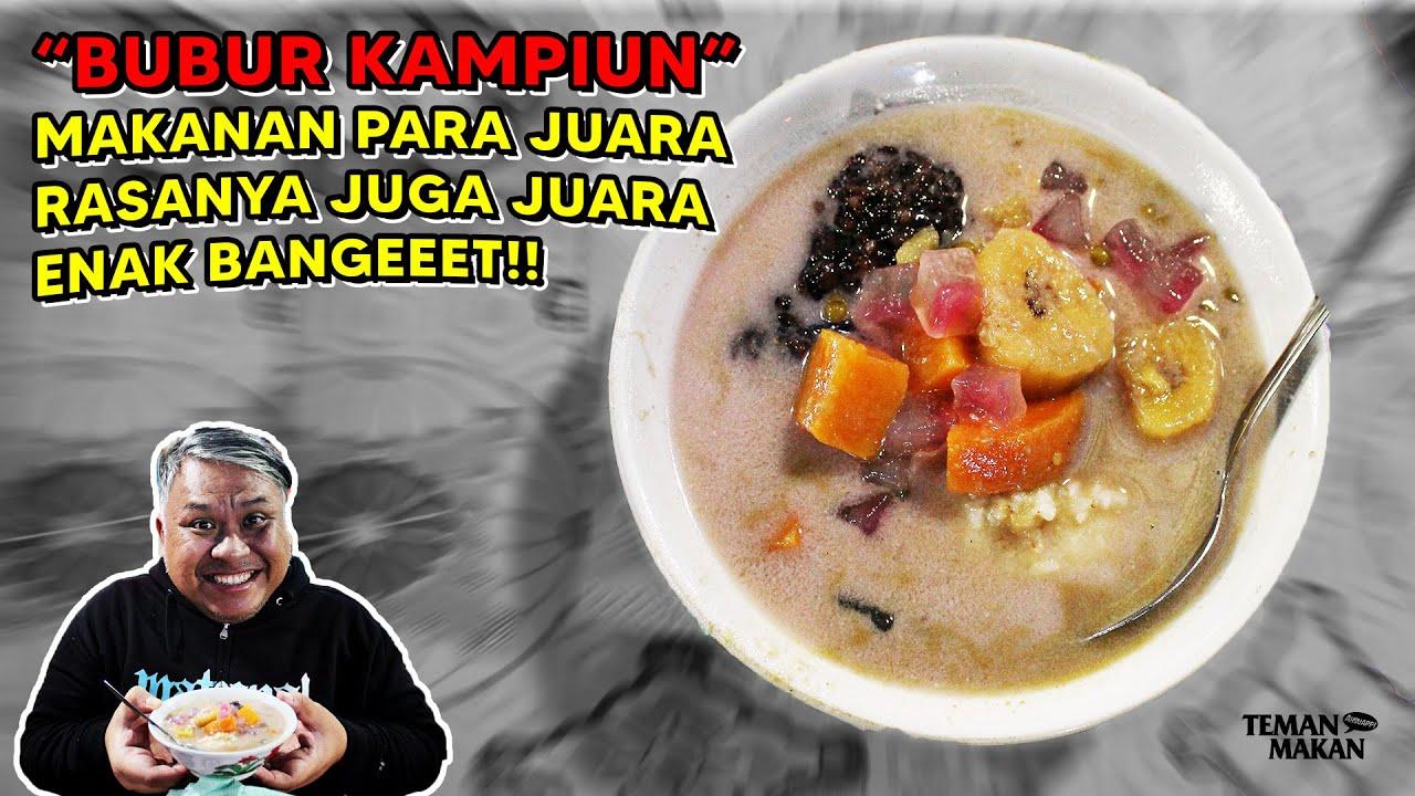 Bubur Kampiun, Bubur Sumsum Khas Padang  Makanannya Sang Juara Rasanya Juga Juara   Teman Makan