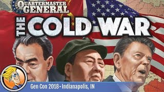 Quartermaster General: The Cold War — game preview at Gen Con 2018