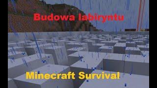Budowa Labiryntu  /TreedCraft.PL / Minecraft Survival