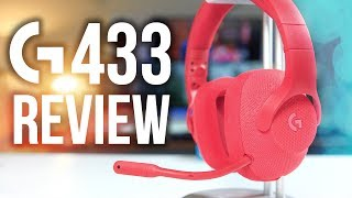 Logitech G433 Gaming Headset Review! 7.1 Surround Sound for $99 thumbnail