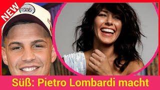 Süß: Pietro Lombardi macht Werbung für neuen Sarah-Song!