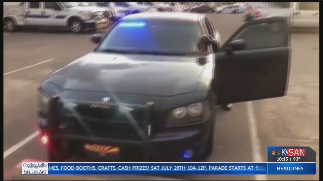Undercover cops pulled over by impersonator