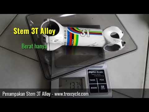 Penampakan Stem Sepeda 3T Alloy