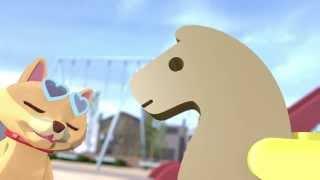 Repeat youtube video 自主制作アニメ「公園のトロイ #2 おもいでがいっぱい」
