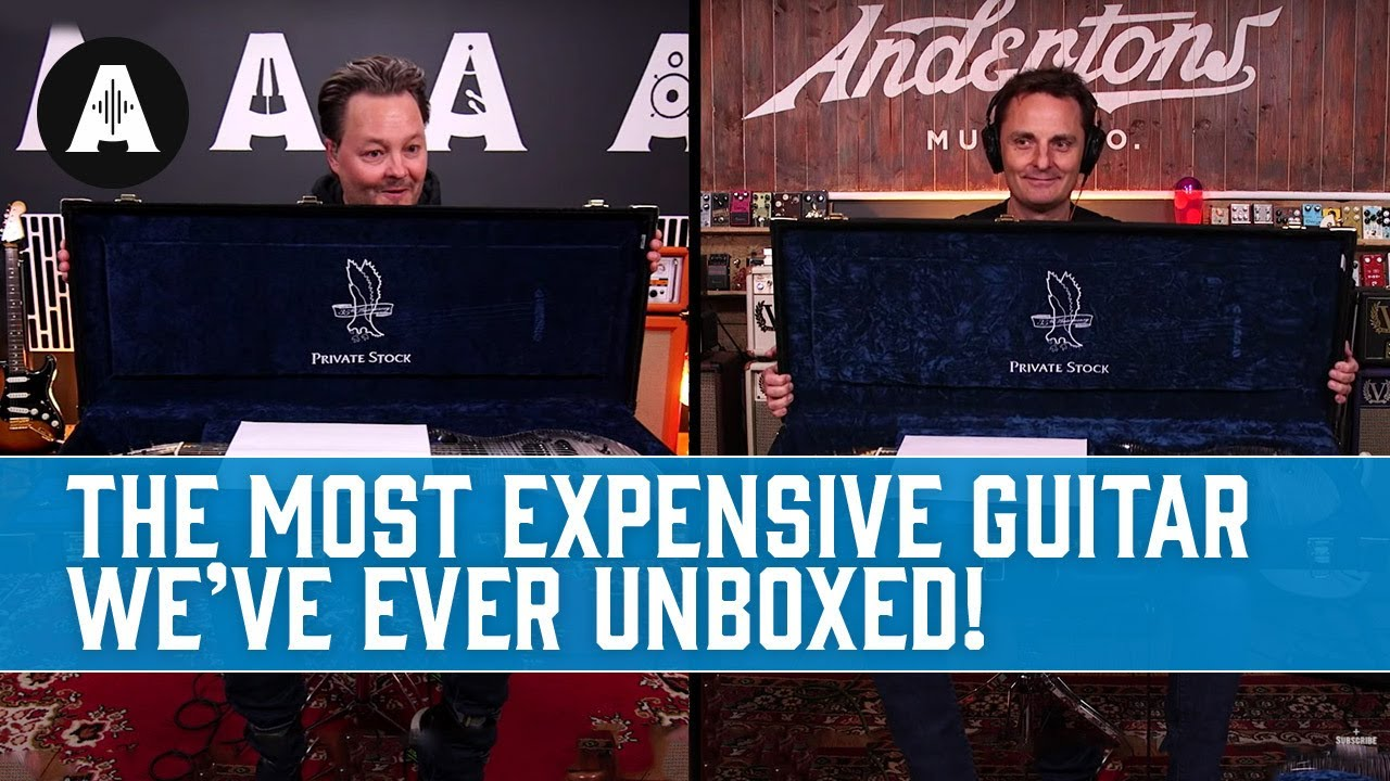 Download The Most Expensive Guitar We've Ever Unboxed! - PRS Private Stock 35th Anniversary Dragon