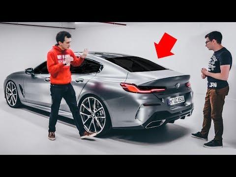 Ответный УДАР Мерсу от BMW! Щупаем НОВУЮ 8-Series GranCoupe! GT 4-Door Coupe в напряжении. Обзор.