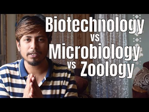Biotechnology vs microbiology vs zoology - Which career to choose from Life science field?
