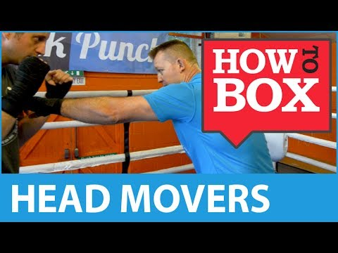 Sparring - Dealing with a Head Mover - How to Box (Quick Videos)