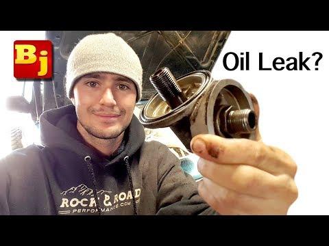 Cheap Oil Leak Fix – The $2 Jeep Repair You Keep Avoiding