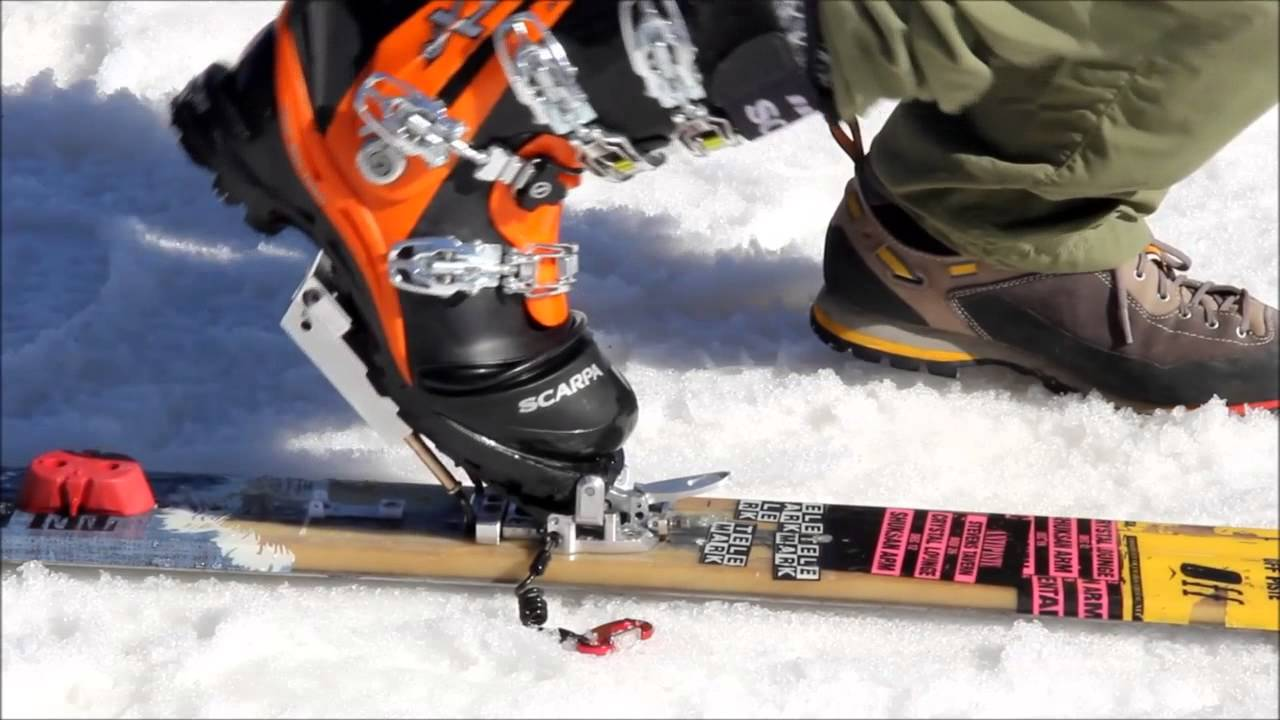 Low Tech Ntn Step In Bindings Youtube