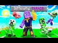 Beating Minecraft As THANOS! Infinity Gauntlet