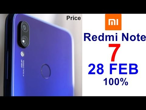 Redmi Note 7 Price In India, Launch Date, Specifications, Features, Review, Camera Mp3