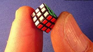 Assembling the World's Smallest (old) 8mm Rubik's Cube