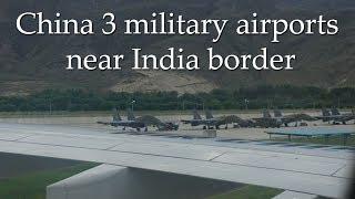 China building three airports near India border