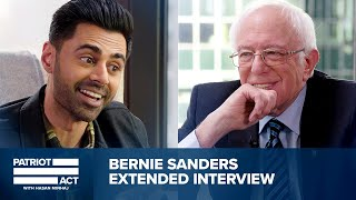 Patriot Act Bonus: Hasan Sits Down With Bernie Sanders | Patriot Act with Hasan Minhaj | Netflix